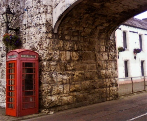 Carnlough - old phone box