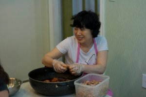 cooking lady