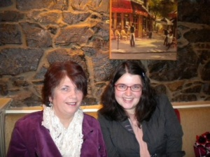 Mum and me - more recently!