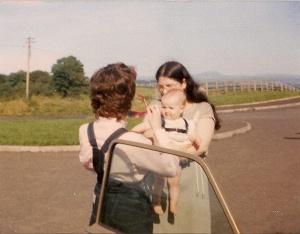 Mum and me, 1982