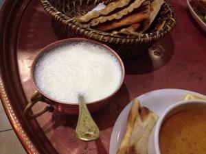 ayran and soup