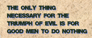 evil vs good